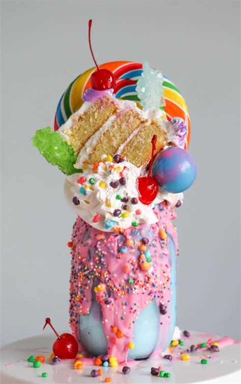Easy Cake Decorating At Home by The Ultimate Milkshake Over The Top Milkshake Ideas