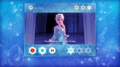 film frozen karaoke disney publishing worldwide and walt disney records bring