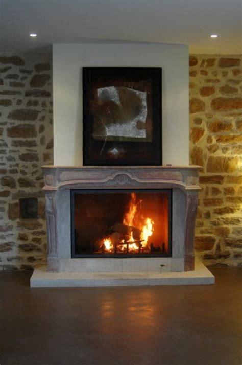 cheminee foyer ferme cheminee insert ou foyer ferme