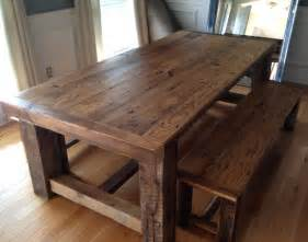 Wood Dining Room Table Reclaimed Wood Extension Table