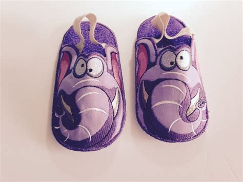 kids bedroom slippers kids bedroom slippers elephant slippers by sewniqboutiq on