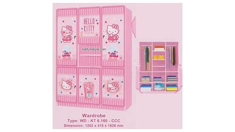 Kamar Set Hello Cotton Cinema Keapanel wd kt 6 160 ccc hello kity cotton cinema