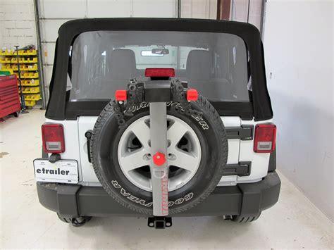 Jeep Spare Tire 2015 Jeep Wrangler Yakima Sparetime 2 Bike Carrier Spare