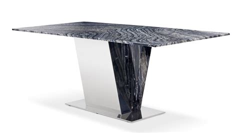Black And White Marble Dining Table Black And White Malbec Marble Malbec Black And White Marble Polished Stainless Steel Dining