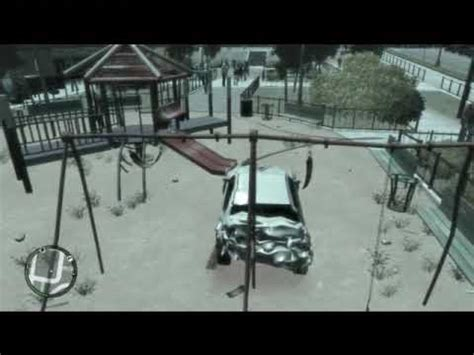 swing set gta 4 gta iv swingset glitch fun sentinel still works perfect