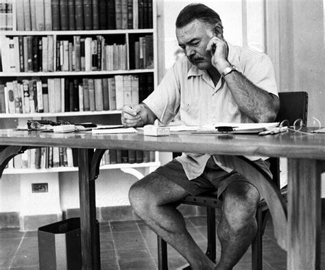 writing from home key west resident profiles ernest hemingway