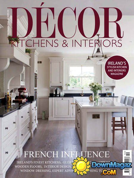 kitchen design magazines free d 233 cor kitchens interiors uk october november 2015 187 download pdf magazines magazines