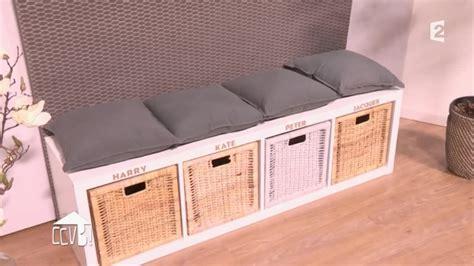 Etagere Salle De Bain Ikea 2731 by Diy Une Banquette Multifonction Pour Mon Entr 233 E