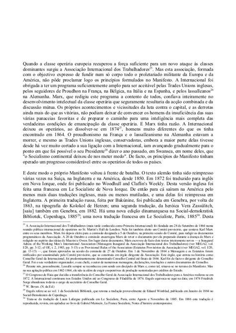 MANIFESTO PARTIDO COMUNISTA