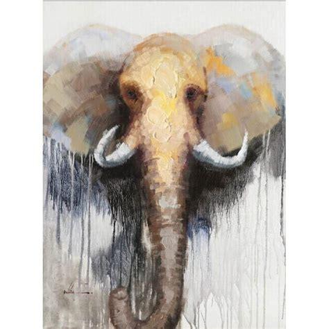 mostrar imagenes figurativas cuadro pintura figurativa contempor 225 nea elefante
