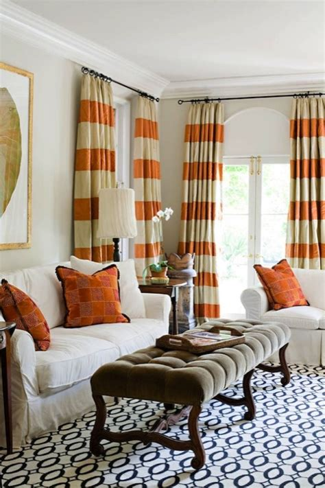 Curtains For Living Room by Orange Curtains Living Room Janie Molster Designs