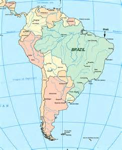 map of equator in south america south america map with equator america map