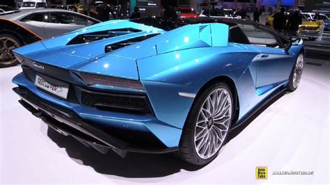 lamborghini aventador s roadster at 2017 frankfurt motor show pictures prices specs by car 2018 lamborghini aventador s roadster at 2017 frankfurt motor show