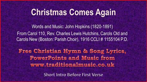 5 classic christmas songs the lyrics comes again carols lyrics