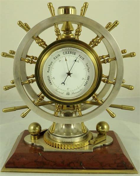 antique gilt and silvered bronze nautical desk