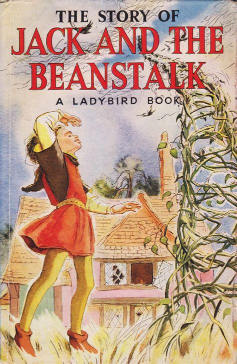 the beanstalk picture book and the beanstalk vintage ladybird book tales