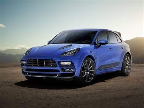 ugly porsche mansory touches the porsche macan suv outcome looks manly