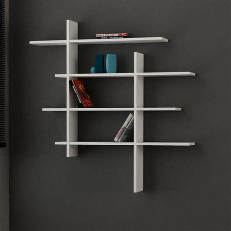 mensole da muro in legno standup mensola libreria moderna a muro in legno 115 x 115 cm
