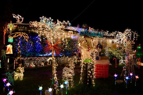 where are the best christmas lights in melbourne