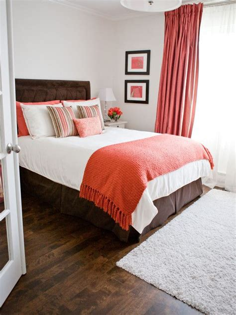 orange and white bedroom bedroom design transitional spare room ideas with elegant