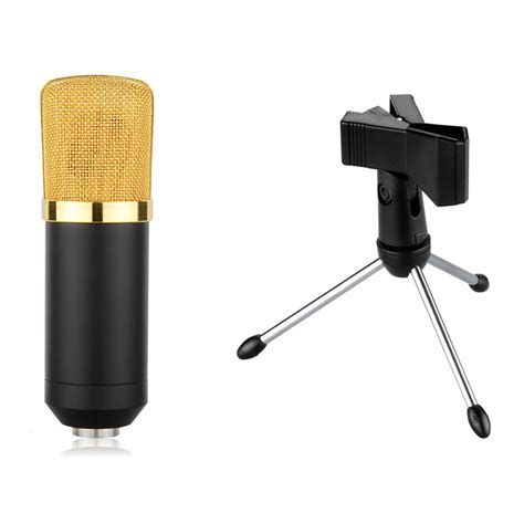 Stand Mic Recording By Gudangmic audio dynamic usb podcast condenser microphone pc