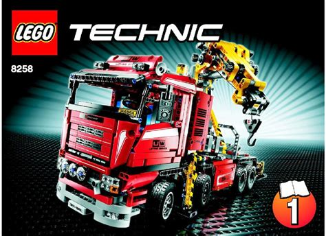 technic truck crane truck instructions 8258 technic