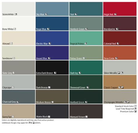 residential tin roof colors free zone color options