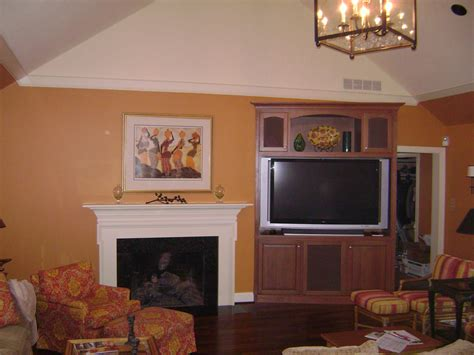 free standing cabinets to fireplace custom fireplace surround altered media cabinet to go
