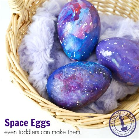 easy easter craft painting eggs how to make eggs adventure in a box