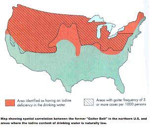 learn endocrinology: the goiter belt