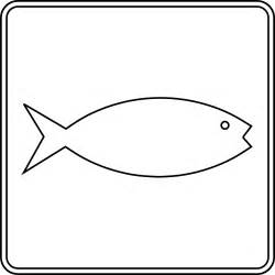 Outline Shapes Of Fish by Fish Hatchery Outline Clipart Etc