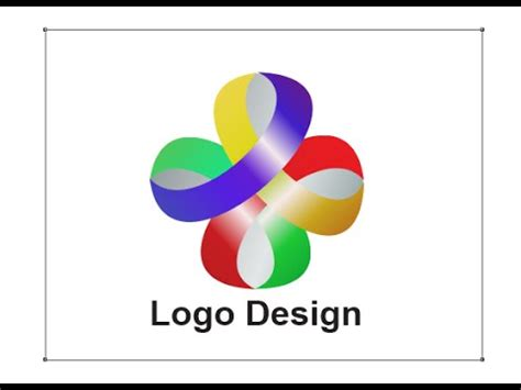 make logo design corel draw x8 in hindi youtube
