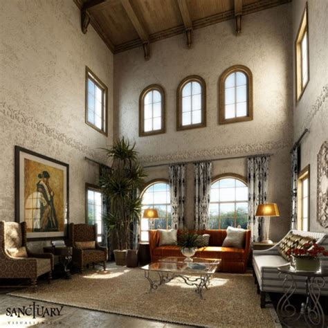 tuscan rooms sanctuary visualization tuscan style living room