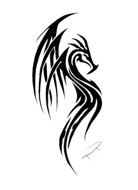 tribal dragon tattoo drawings 25 best ideas about tribal tattoos on