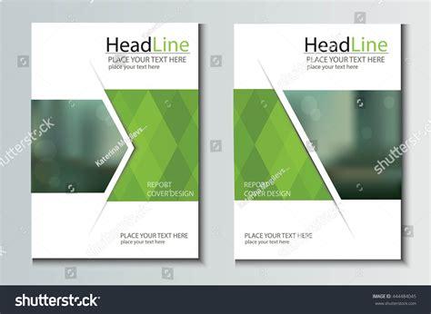 book brochure template leaflet brochure flyer template a4 size stock vector