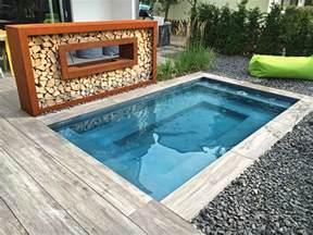mini schwimmbad kleiner pool im garten pool f 252 r kleine grundst 252 cke