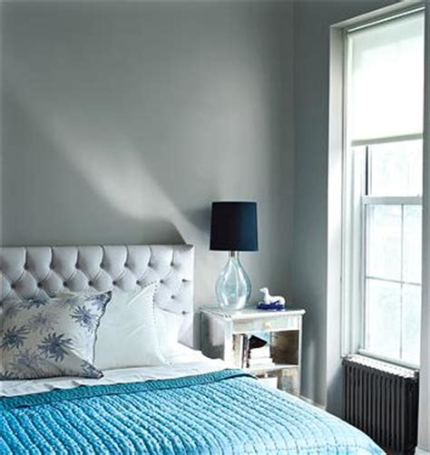 gray and blue bedroom contemporary bedroom domino magazine