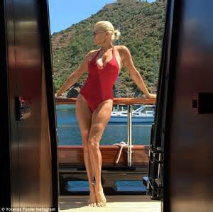 what did yolanda foster look like when she first started modeling inside yolanda foster s romantic yacht vacation photo