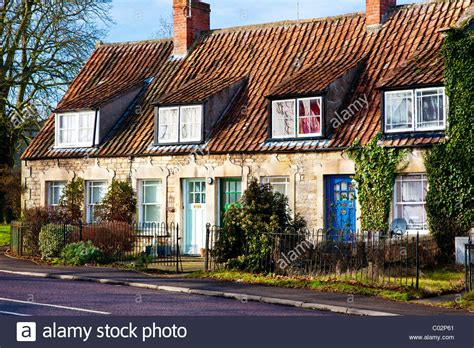 Cottage Dormer Windows A Row Of Terraced Cottages With Dormer Windows And