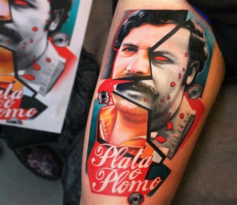 pablo escobar tattoo pablo escobar by dave paulo post 21065