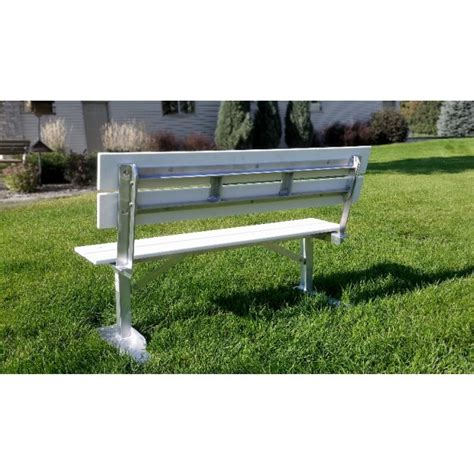 aluminum park benches heavy duty aluminum park benches with perma poly