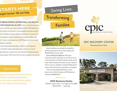 Epic Detox St Augustine brochure epic detox center on behance