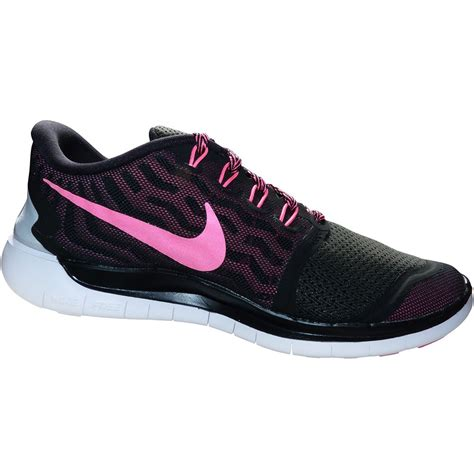 Nike Free Running 5 0 nike free 5 0 damen running sneaker schwarz pink 724383 006