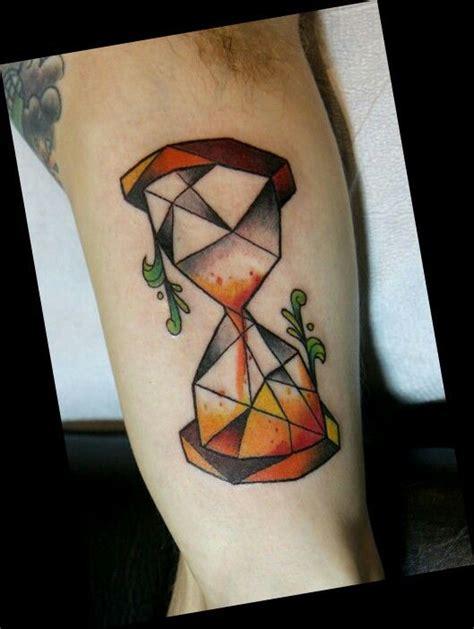 pinterest tattoo hourglass geometric hourglass tattoo by deanna wardin tattoo