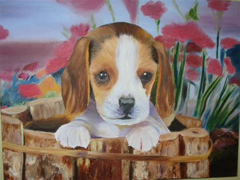 puppy paint painting puppy by supernaturalgirlx on deviantart