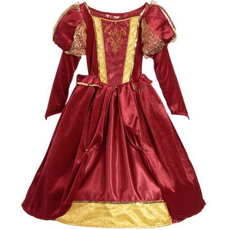 design dress up dress up by design red quot medieval queen quot dress up costume