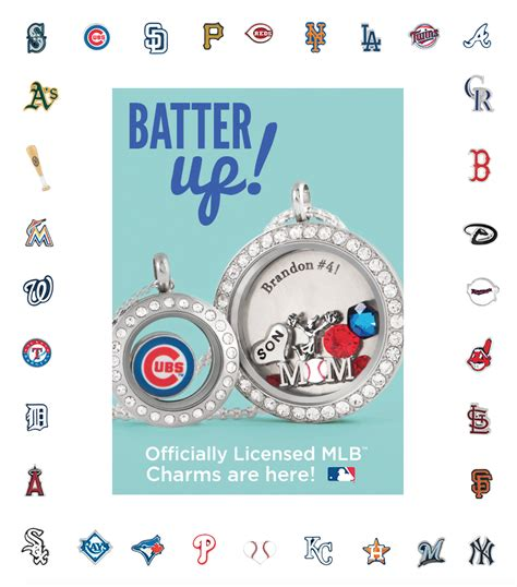 Origami Owl Customer Care - origami owl customer service mlb licensed charms from