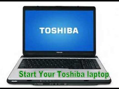 toshiba laptop password reset