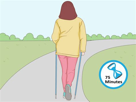 To Walking by How To Do Nordic Walking With Pictures Wikihow