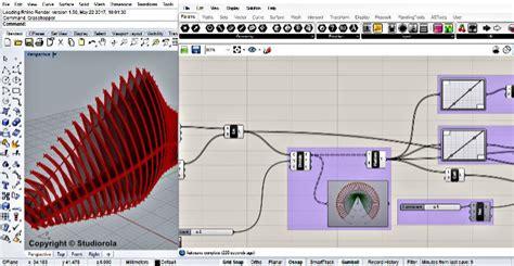 tutorial design exles rhino grasshopper algorithmic modelling course